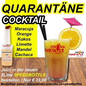 Quarantäne-Cocktail-Speedbottle