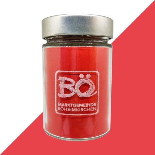 SD Glas mit BÖ Logo